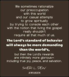 Sheri L. Dew #lds