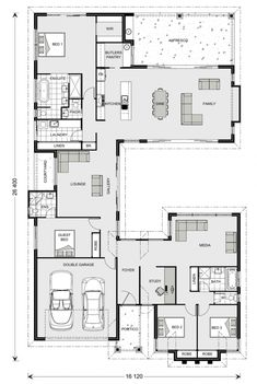 Floor Plan Friday: Separate Living Zones