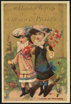 Holiday gifts at Church & Phalen's - Fleurs de printemps. [front] | Flickr - Photo Sharing!