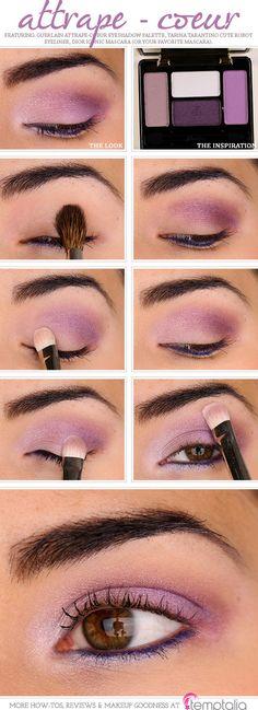 Purple Eyeshadow Look - Imgur