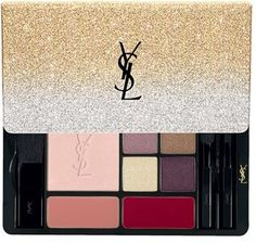 Yves Saint Laurent 'Sparkle Clash' Multi-Use Palette - No Color  $95 by Saint Laurent at Nordstrom  COPY LINK   FAVORITE        Available Colors: Available Sizes: One Size DETAILS This year, give your look a little extra shimmer with this limited-edition palette dressed in gold and silver sparkles. The Multi-Use Palette contains daring must-have eyeshadows, blush, highlighter and lip colors to get the ultimate rock-chic look. Its compact size fits perfectly inside your evening clutch for…