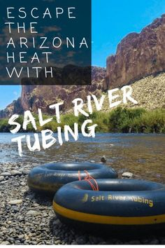 Taking a vacation to Arizona during the hottest part of the year? Escape the summer heat by Salt River tubing through the Arizona desert! Spend as long as 4 hours cruising through the cool waters of the Salt River while you soak in that desert scenery. Arizona Road Trip, Arizona Travel, Salt River Tubing, Visit Arizona, Adventures Abroad, Us National Parks, United States Travel, Travel Usa, Vacation Travel