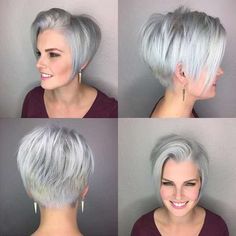 Short Hairstyle Grey 2017 - 4