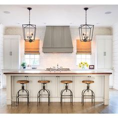 """108 Likes, 2 Comments - @krystine_edwards on Instagram: """"Clean, symmetrical, simple and fabulous is how I would describe this beautiful kitchen. Bravo via…"""""""