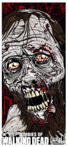 TWD Bearded Zombie