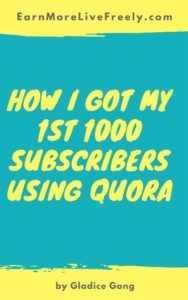 If you are not familiar with Quora, it's actually a platform to ask questions and connect with people who contribute unique insights and quality answers. What I love Quora is that it gives you very targeted audience who are looking for solutions that you are offering. Within a couple of months after joining Quora, I...[ReadMore]
