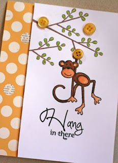 So cute!  Could be done with the small monkey as well. Maybe multiple small monkies.