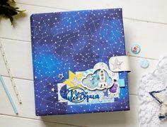 """Чудеса рукоделия: Куда хочу туда лечу....или...Мой космический альбом для """"Baby time""""."""