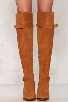 Report Lipton Suede Boot - That '70s Flow | Okay Focus | Heels | Knee High