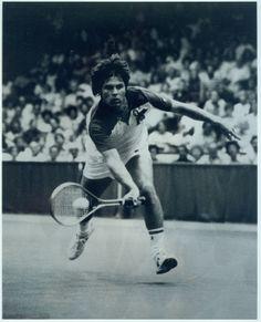 Tennis player Mike Estep, 1971