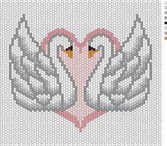 Swans for Kim - Bead&Button Magazine