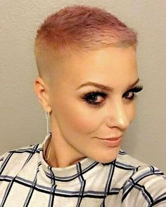 20 Trendy Short Haircuts for Fine Hair: Shaved Buzz Cut; Really Short Haircuts, Haircuts For Fine Hair, Short Pixie Haircuts, Choppy Haircuts, Trendy Haircuts, Short Shaved Hairstyles, Pixie Hairstyles, Short Hairstyles For Women, Braid Hairstyles