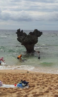 The Heat Rocks, Kouri island, Okinawa