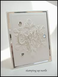 Image result for white on white christmas cards