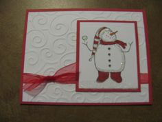 Image detail for -stampin up handmade christmas cards « Karen's Cards & Ideas