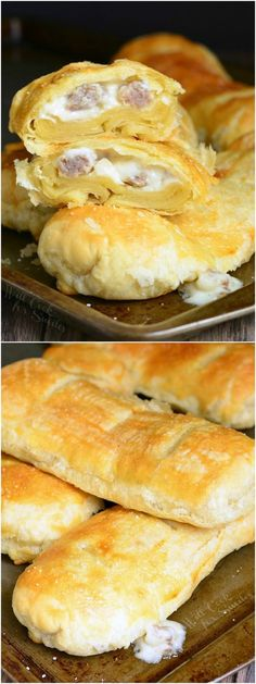Sausage and Gravy Pastry! from willcookforsmiles.com #breakfast #comfortfood