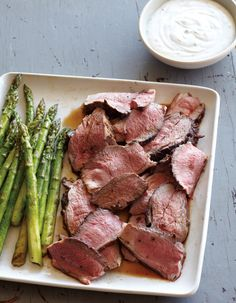 Lamb Loin Chops With Greek Salad And Yogurt-Lemon Sauce Recipe ...