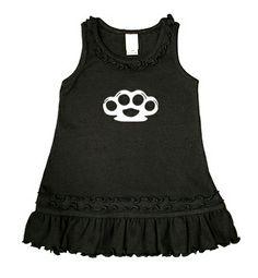 Brass Knuckles Dress (black/white) :) ahhh looovee this!