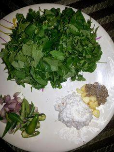 Kongu Traditional Recipes: SUNBERRY GREEN AND DALL CURRY (MANATHAKKALI KEERAI...