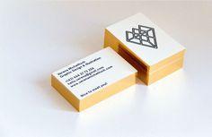 Verena Michelitsch by Tobias van Schneider, via Behance (logo and business cards for designer)