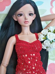 Ashley <3 | red dress for Milk Choco <3 | DebiDooDoll | Flickr
