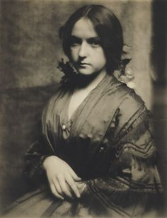 [Josephine Brown]; Gertrude Käsebier (American, 1852 - 1934); New York, New York, United States; 1900 - 1907; Platinum print; 29.2 x 22.4 cm (11 1/2 x 8 13/16 in.); 84.XM.160.2; J. Paul Getty Museum, Los Angeles, California