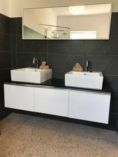 New Master Bathroom ❤️ Great Vacations, Double Vanity, Master Bathroom, Breeze, Villa, Architecture, Design, Arquitetura, Architecture Illustrations