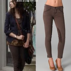 Spencer's riding pants from J Brand Jeans
