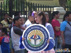 East Gusa National High School at Cagayan de Oro The Higalas Parade of Floats and Icons 2015 National High School, Sorority And Fraternity, Icons, Activities, Education, City, Cagayan De Oro, Cities, Teaching