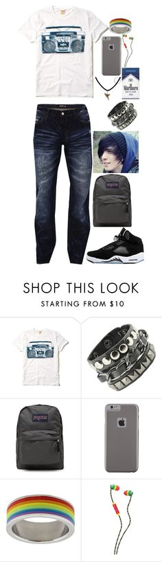 """Merle's Pre-Lightning Outfit"" by mmgio on Polyvore featuring Hollister Co., JanSport, Case-Mate and Skullcandy"
