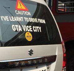 Saw this sticker behind a car in Mumbai traffic http://ift.tt/2ifZ88m