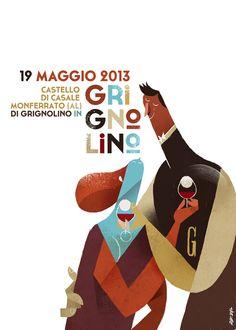 di Grignolino in Grignolino 2013 by Riccardo Guasco, via Behance
