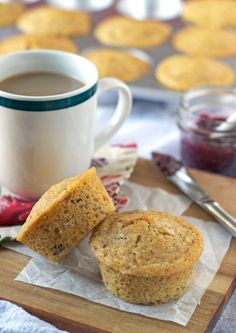 Buttermilk Crunch Muffins - www.thelawstudentswife.com #recipe