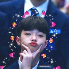 produce x 101 ; Love You Meme, 4 Wallpaper, Dsp Media, Cute Icons, Produce 101, Chanbaek, Meme Faces, Reaction Pictures, Kpop Boy