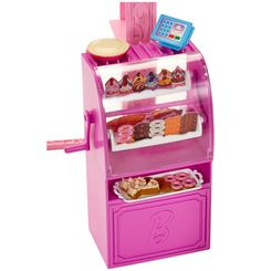 Marvelous Bakery Case from the Barbie Malibu Avenue Bakery Playset by Mattel
