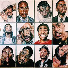 Music! Black Girl Art, Black Art, Art Girl, Hip Hop Artists, Music Artists, Afro, African American Artwork, Trill Art, Dope Art