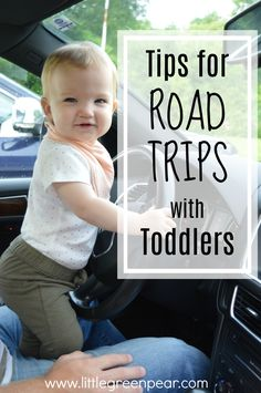 Tips for Road Tripping with a Toddler! #toddlerroadtrip #toddlers