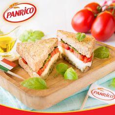 Inspire-se numa receita bem italiana com mozarela, tomate e manjericão. Saiba mais no nosso Facebook (https://www.facebook.com/PanricoPortugal/)