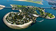 Paradise Point in San Diego, California
