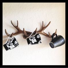 18 Awesome Antler Decorating Ideas {# 6 and #17...Swoon!}   How Does She