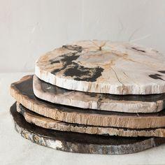 Petrified Wood Serving Board