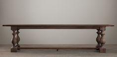 17th C. Monastery Rectangular Table | Restoration Hardware