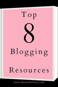 Here are my top eight resources for new bloggers. Resources that will help you in your blogging journey. #blogging #bloggingresources #bloggingtips Social Business, Email Campaign, Blog Planner, Pinterest For Business, Blogging For Beginners, Make Money Blogging, Mom Blogs, Writing Tips, How To Start A Blog