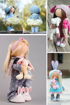 Handmade doll Tilda doll Interior doll Baby di AnnKirillartPlace