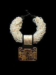 gretchen shields jewelry  | Gretchen-Shields - White pearl multi-strand | JEWELRY