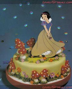 "МК лепка ""Белоснежка и семь гномов"" -Snow White and the Seven Dwarfs figures making tutorials - Page 2 - Мастер-классы по украшению тортов Cake Decorating Tutorials (How To's) Tortas Paso a Paso"