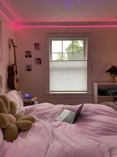 Room Design Bedroom, Room Ideas Bedroom, Girls Bedroom, Room Decor, Bedrooms, Trendy Bedroom, Chill Room, Cozy Room, Retro Room
