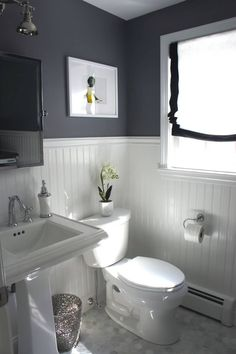 More ideas below: BathroomRemodel Small Bathroom Remodel On A Budget DIY Bathroom Remodel Ideas With Tub Half Paint Bathroom Shower Remodel Master Tile Farmhouse Bathroom Remodel Rustic Bathroom Remodel Before And After Upstairs Bathrooms, Downstairs Bathroom, Bathroom Renos, Laundry In Bathroom, Master Bathroom, Paint Bathroom, Navy Bathroom, Bathroom Small, Bathroom Ideas On A Budget Small