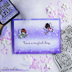 Have a magical day | new stamps in da craft rooooommm :D had… | Flickr