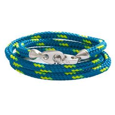 this/these bracelet/s are amazing.  they remind me of my days at camp making gimp bracelets | TheGregoryProject